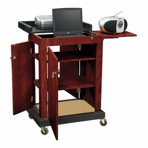 Oklahoma Sound The Smart Cart Lectern (Mahogany) - SCL-MY