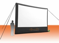 Open Air Home Screen - 18' Inflatable Projection Screen
