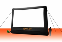 Open Air Home Screen - 22' Inflatable Projection Screen Rear Projection