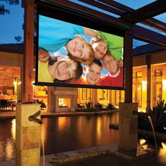 Outdoor Manual Pull-Down Screens