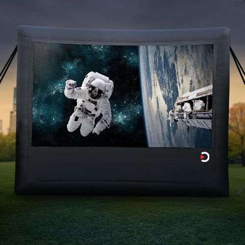Outdoor Movie Theater System - Gold Package - Full HD System! (REAR PROJECTION)