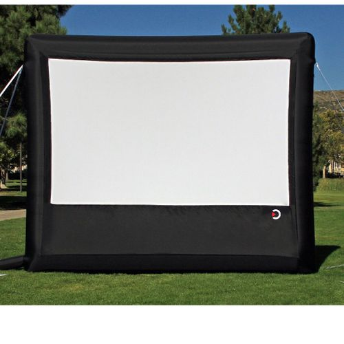 Outdoor Movie Theater System - Silver 4K Package (REAR PROJECTION)