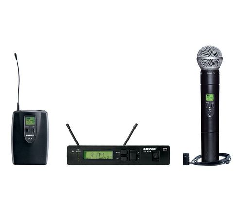 Shure Combo Wireless System, G3 Frequency - ULXS124/85-G3