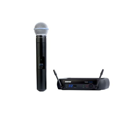 Shure Handheld Wireless System, X8 Frequency - PGXD24/BETA58-X8