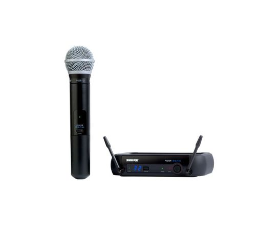 Shure Handheld Wireless System, X8 Frequency - PGXD24/PG58-X8