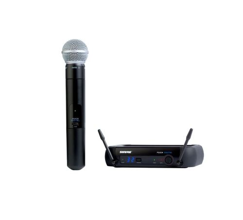 Shure Handheld Wireless System, X8 Frequency - PGXD24/SM58-X8