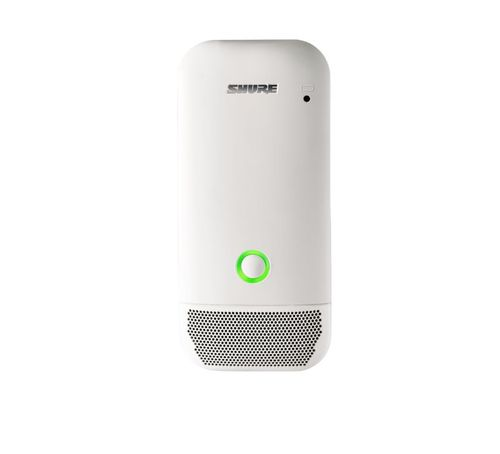 Shure Wireless Boundary Microphone Transmitter, White, Omnidirectional Condenser Pattern, X52 Frequency - ULXD6W/O-X52