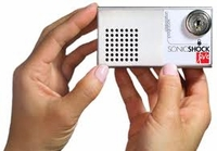 Sonic Shock 5 Anti-Theft Device for Projectors - Full Kit includes : Alarm module, 1 Glue Cartridge, 2 Keys, Sensor tether and mounting plate