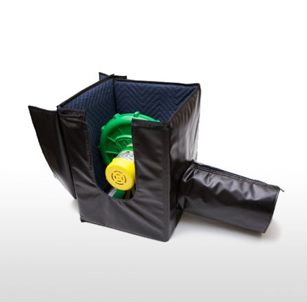 Sound Dampening Blower Box for Large Open Air Screens