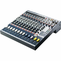 Soundcraft / Spirit EFX8 - 8 Channel, 2 Bus Audio Mixer with Lexicon Effects Processor - E535.000000US