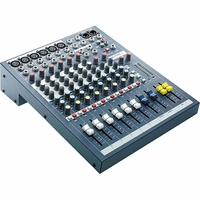 Soundcraft / Spirit EPM 6 - 6 Mono + 2 Stereo Audio Console - RW5734US