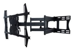 """Sunbrite  Dual Arm Articulating Wall Mount with tilt, swivel and pan for 37"""" - 80"""" Outdoor TVs - SB-WM-ART2-L-BL"""