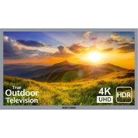"Sunbrite Partial Sun 43"" Signature 2 Series 4K Ultra HDR Partial Sun Outdoor TV-Silver - SB-S2-43-4K-SL"