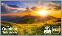 "Sunbrite Partial Sun 75"" Signature 2 Series 4K Ultra HDR Partial Sun Outdoor TV-Silver - SB-S2-75-4K-SL"