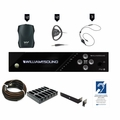 Williams Sound FM Plus Assistive Listening Systems - FM 557-12 PRO