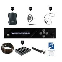 Williams Sound FM Plus Assistive Listening Systems - FM 557-24 PRO D
