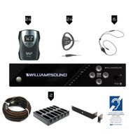 Williams Sound FM Plus Assistive Listening Systems - FM 558-24 PRO D