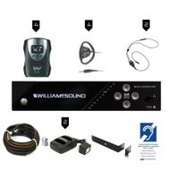 Williams Sound FM Plus Assistive Listening Systems - FM 558 PRO D
