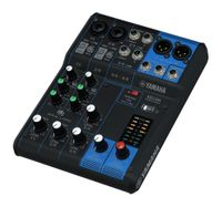 Yamaha 6-Channel Mixing Console: Max. 2 Mic / 6 Line Inputs (2 mono + 2 stereo) / 1 Stereo Bus – MG06