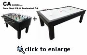 PGI CA Combo Foosball and Air Hockey -- SHIPPING INCLUDED*