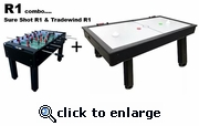 PGI R1 Combo Foosball and Air Hockey -- SHIPPING INCLUDED*