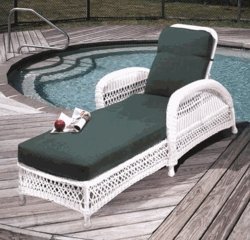 Aquarius Chaise Lounge Cushions with Fran's Indoor/Outdoor Fabrics (UPS $45)