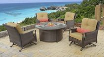 Augusta Fire Pit Chat Set (MF)