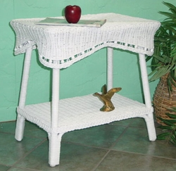 Beaded Accent Table (UPS $35)