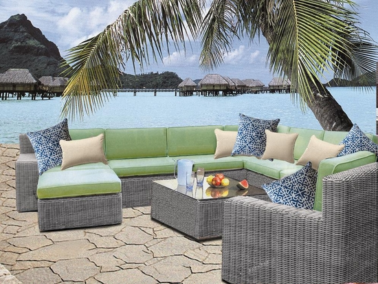 Belle Haven Five Piece Sectional