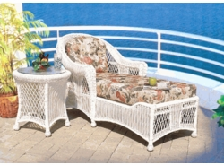 Berkeley Chaise Lounge Cushions with Fran's Indoor/Outdoor Fabrics (UPS $45)