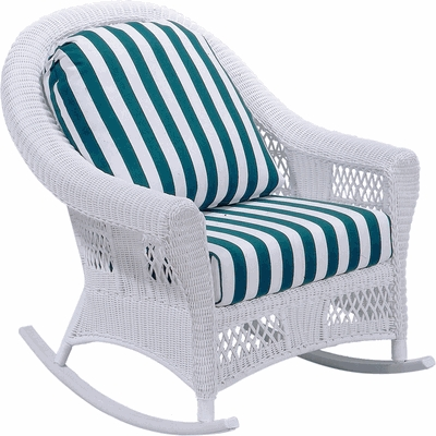 Berkeley Rocker Cushion with Sunbrella & Richloom Premiere Fabrics (UPS $25)