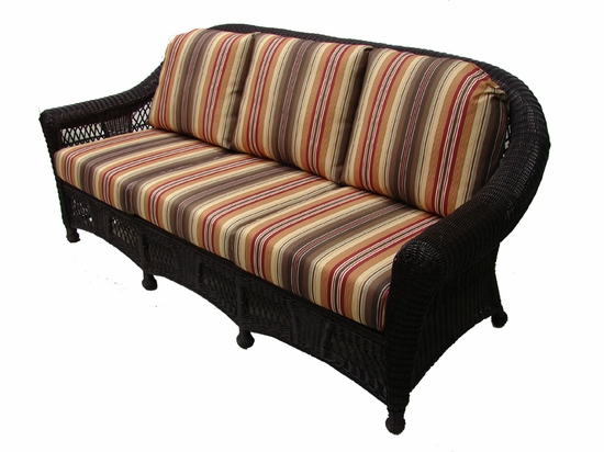 Berkeley Sofa Cushions with Fran's Indoor/Outdoor Fabrics (UPS $75)