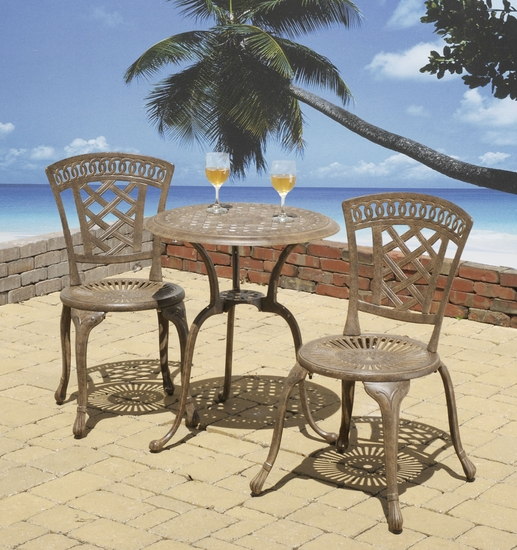 Blanca Bistro Chairs Set of 2 (UPS $75)