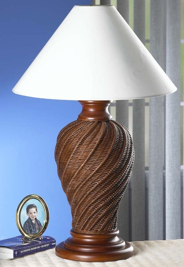Braided Table Lamp (UPS $45)