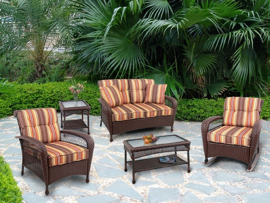 Buckingham Porch Set of Four (MF)