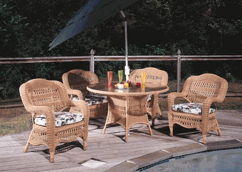 Camelback Dining Chair Cushions Set of 2 with Fran's Indoor/Outdoor Fabrics (UPS $35)