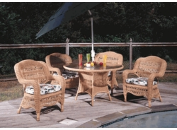 Camelback Dining Chair with Sunbrella & Richloom Premiere Fabric (UPS $25)