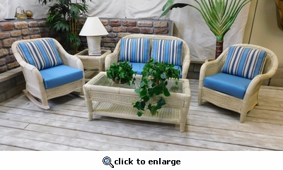 Cancun Collection Living Set of 5 (MF)