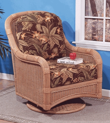 Cancun Glider Cushions with Fran's Indoor/Outdoor Fabrics (UPS $25)