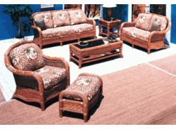 Cancun Living Set of 6 Replacement Cushions with Fran's Indoor/Outdoor Fabric (UPS $150)