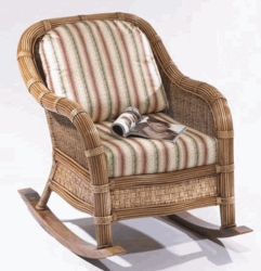 Cancun Rocker Cushions with Sunbrella & Richloom Premiere Fabrics (UPS $25)