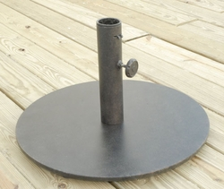 Cast Aluminum 50 LB Umbrella Stand (UPS $45)