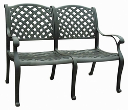 Cast Aluminum Chairs & Benches
