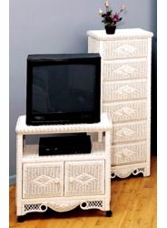 Charlotte TV/VCR Cabinet & Lingerie Chest