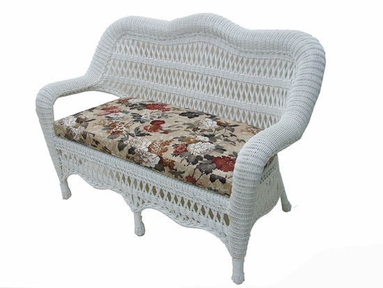 Contour Loveseat Cushion (UPS $25) with Sunbrella & Richloom Premiere Fabric
