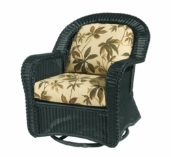 Coral Bay Glider Cushions with Fran's Indoor/Outdoor Fabrics (UPS $25)