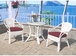 Costa Del Mar Cafe Set/3 (UPS $95)<br>(Table, 2 Chairs)