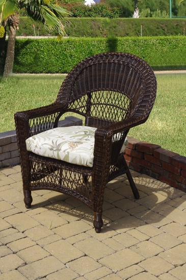 Dark Cherry Saybrook Chair