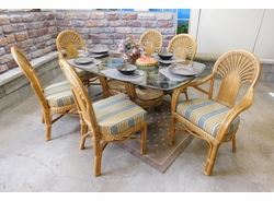 Fan Dining Set of 7 (MF)