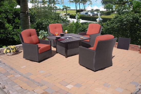 Fire Pit Chat Set (MF)